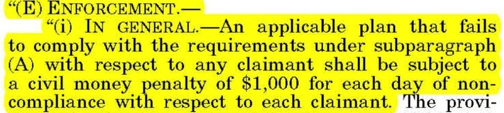 Enforcement - The Plaintiff's MSA and Lien Solution